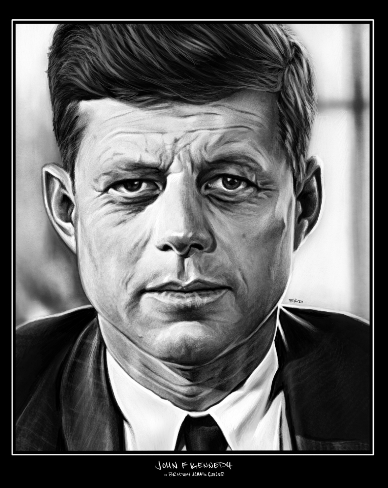 John F. Kennedy by BradGeiger